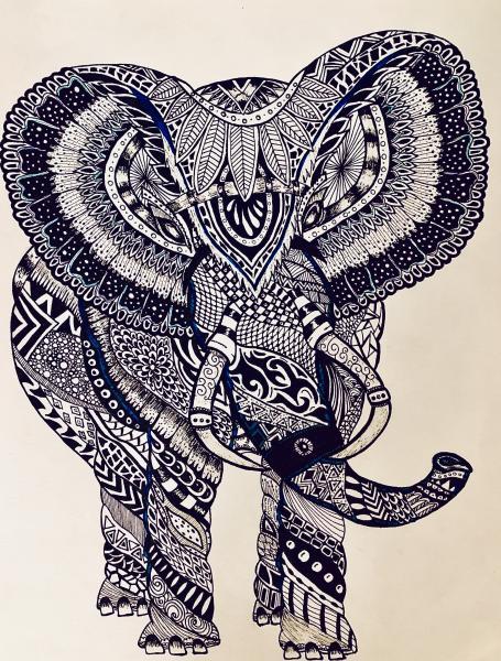 Elephant (Ink)